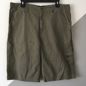 "Vans 34"" Baggy Utility Shorts 12"" Long Herringbone"